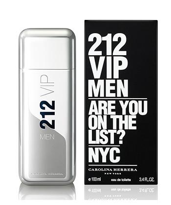 Carolina Herrera 212 Vip Edt 100ML-Men