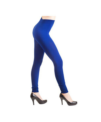 Blue SeaMLess Full Length Leggings-SML528Sd-Women