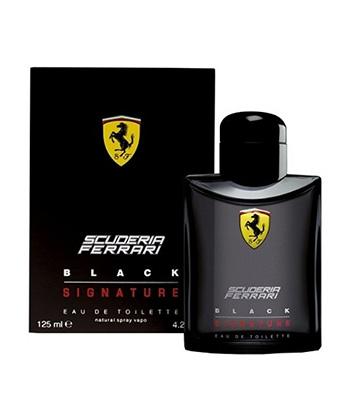 Scuderia Ferrari Black Signature Edt 125ML-Men