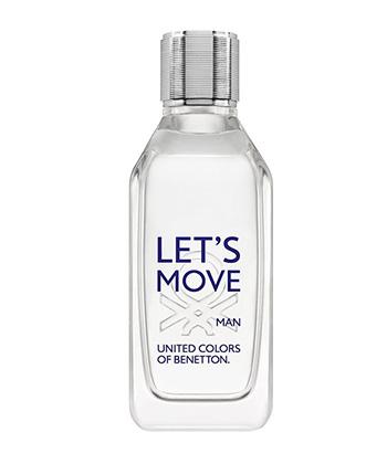 Benetton Lets Move Edt 100ML-Men