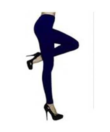 Navy Blue SeaMLess Full Length Leggings-SML528Sd -Women