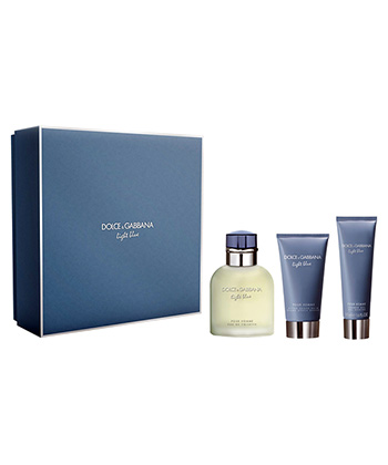 Dolce & Gabbana Light Blue 3 Piece Giftset-Men