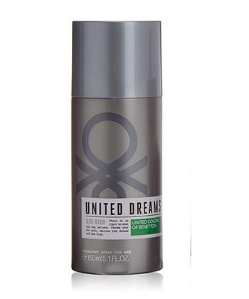 Benetton United Dreams Aim High Deo 150ML-Men