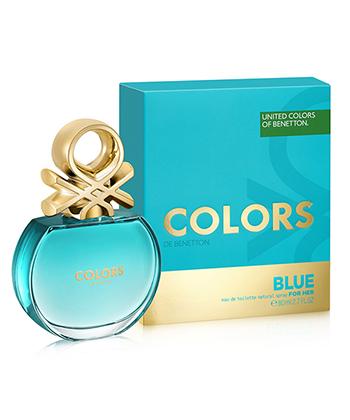Colors De Benetton Blue Edt 80 Ml-Women