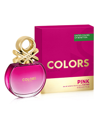 Colors De Benetton Pink Edt 80 Ml-Women