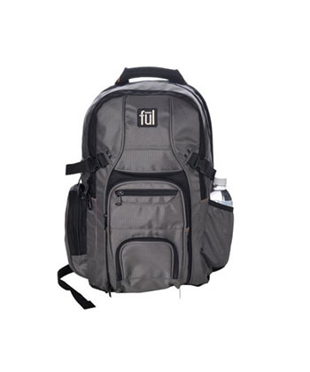 Ful Platinum Backpack 18.75inch X 8.0inch X 12.75inch