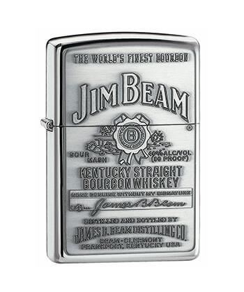 250Jb.928 Jim Beam Pewter Emblem