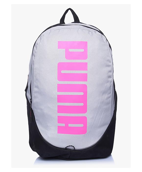 c5daa40ff67 Buy Original Puma Pioneer Backpack Gray Violet Fluo Pink 7279002 ...