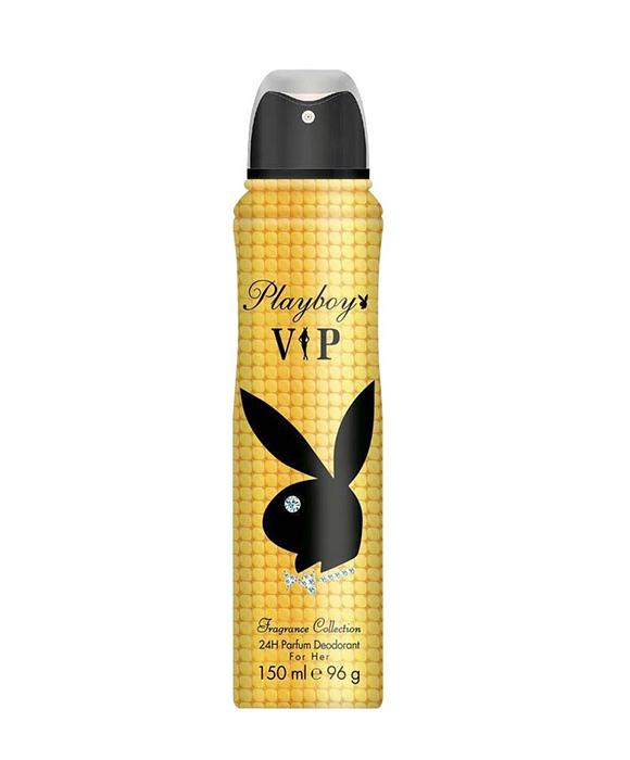 <b>PLAYBOY VIP DEODORANT SPRAY</b><br> For Women