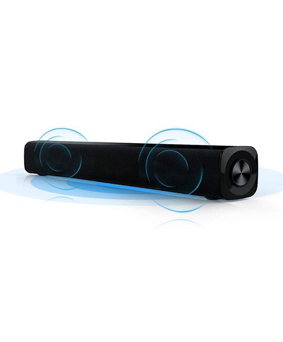 MODGET MOG111BT 20 W Black 2.0 Channel Bluetooth Soundbar