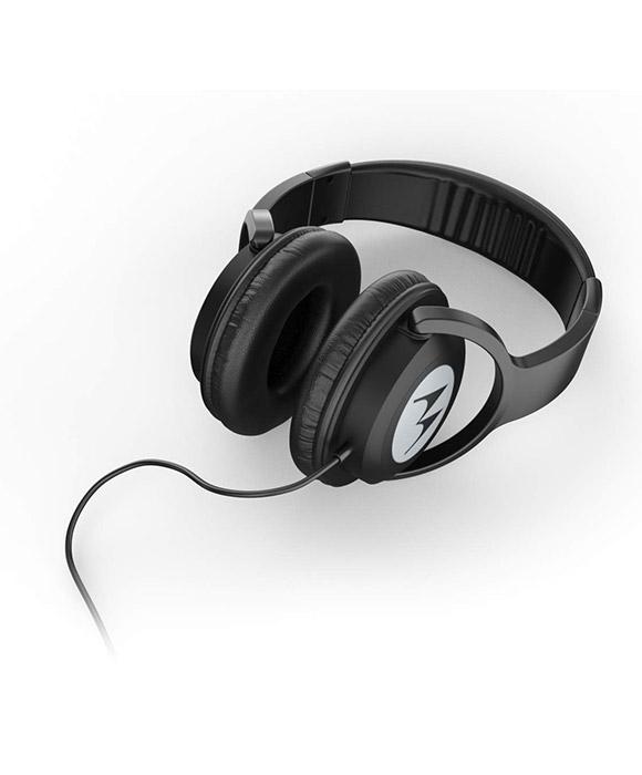 Alexa Built-in Motorola Pulse 100 Over Ear Wired Headphones