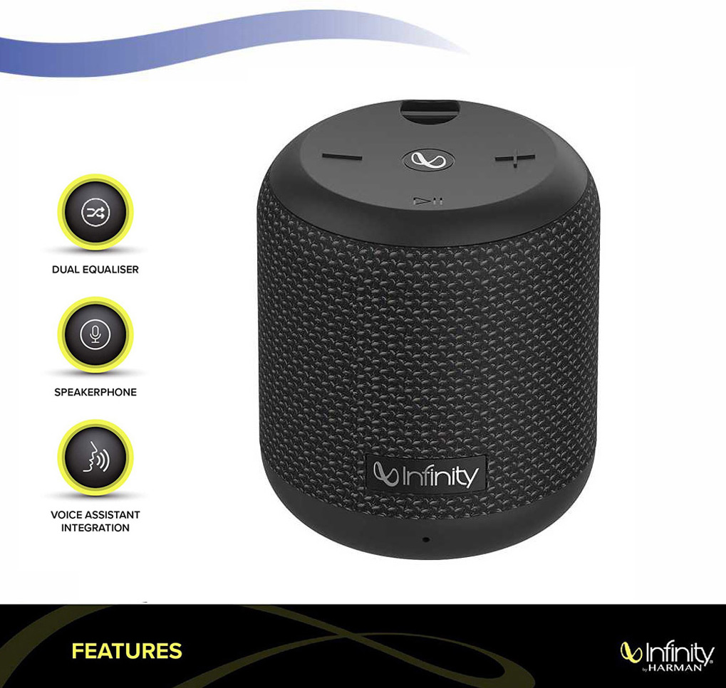 Infinity By Harman Clubz 150 Bluetooth Portable Mono Speaker