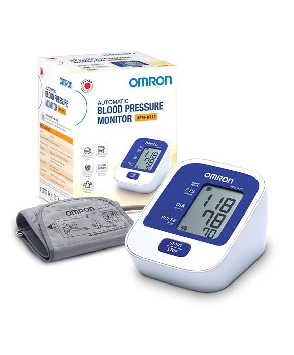 Omron Hem-8712 Digital Blood Pressure Monitor