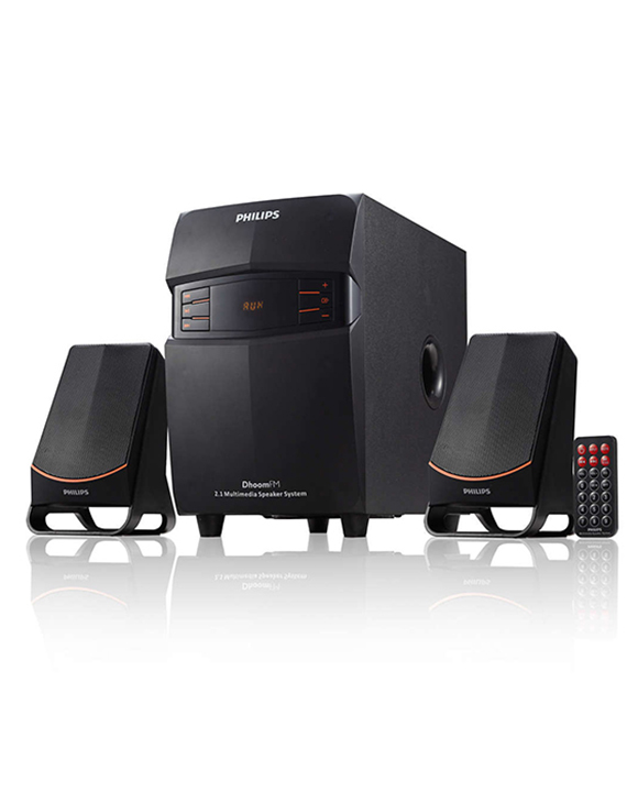 Philips Dhoom 2.1 Channel 20 Watts Mms2580B/94 Home Theater System