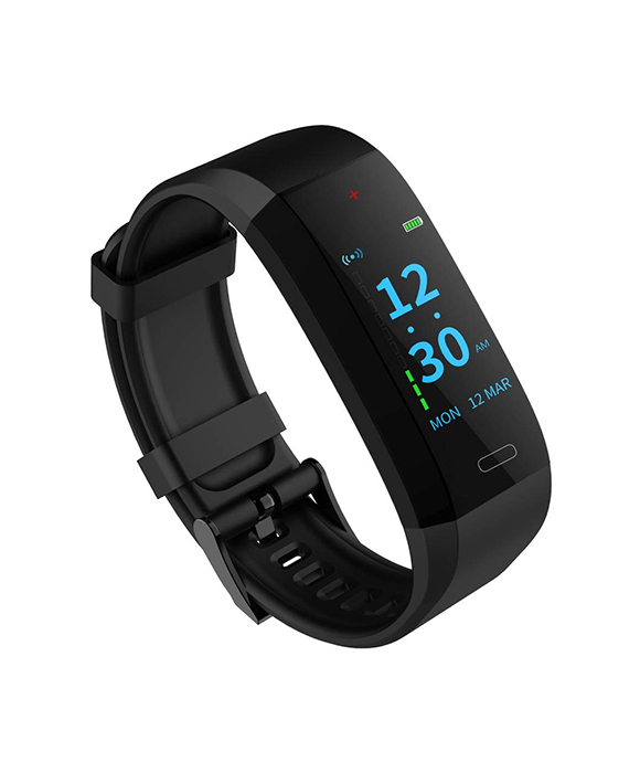 GOQii VITAL Fitness Tracker Band with Colour Display Blood Pressure Monitor
