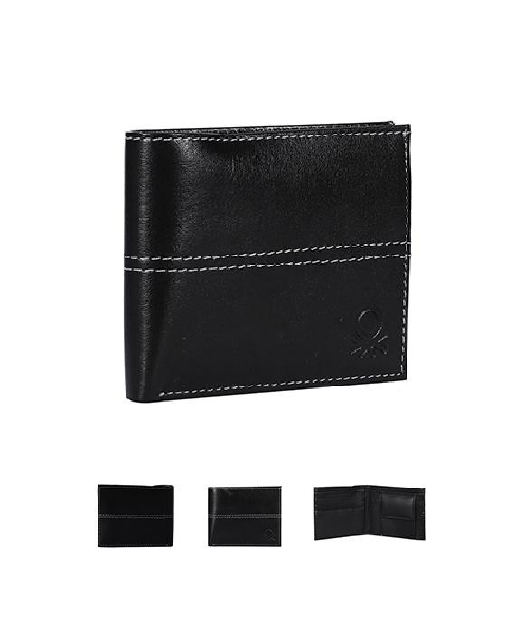 Benetton Style Leather Wallet