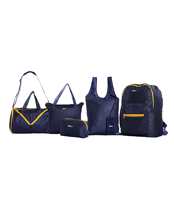Bleu Back Pack Combo Set of 5