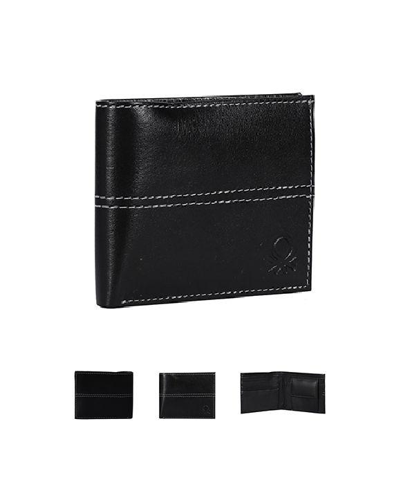 Benetton Style Leather Wallet
