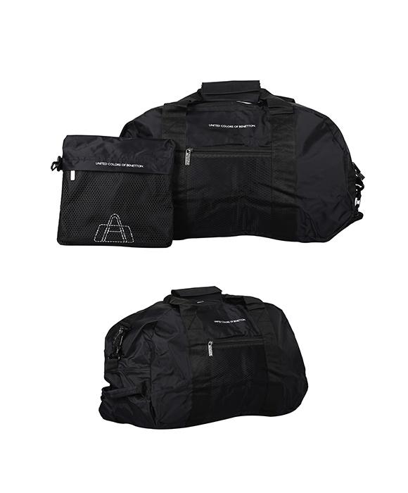 Benetton Black Pouch Foldable Travel ...