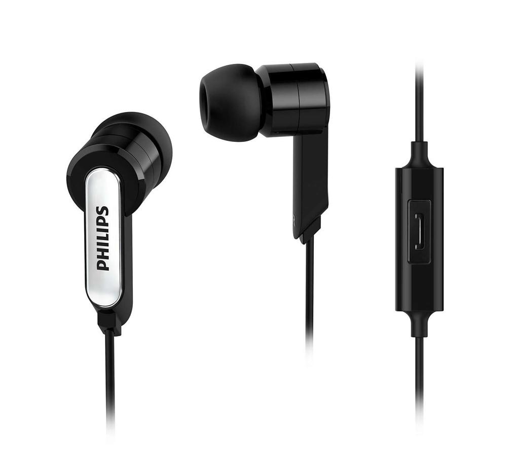 Philips SHE1405BK In-Ear Headphone He...