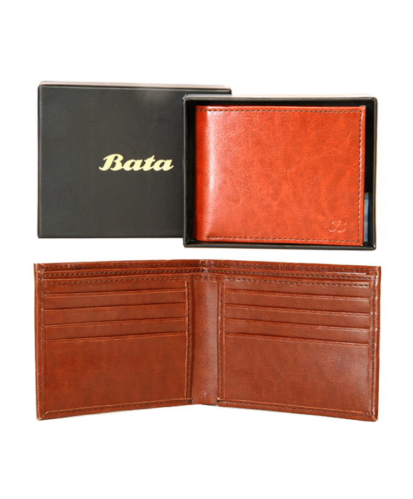 Bata Classic PU-Tan-961-4011 Wallet